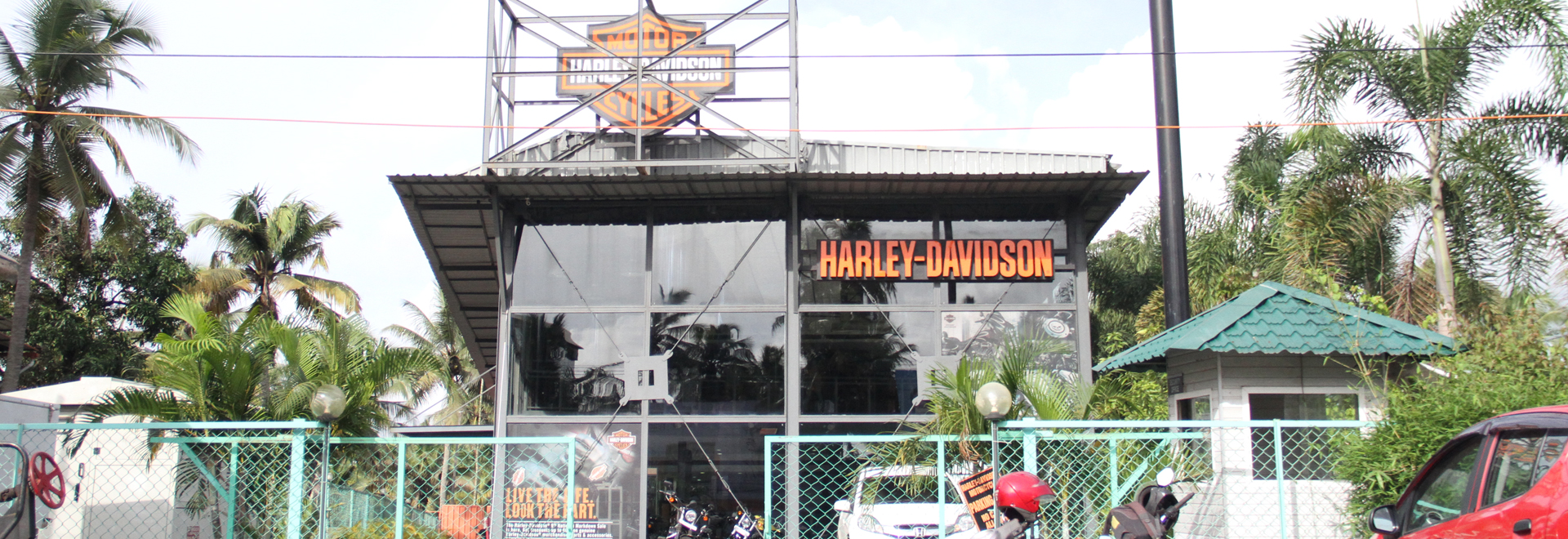Harley Davidson-Indoor Decorators Works