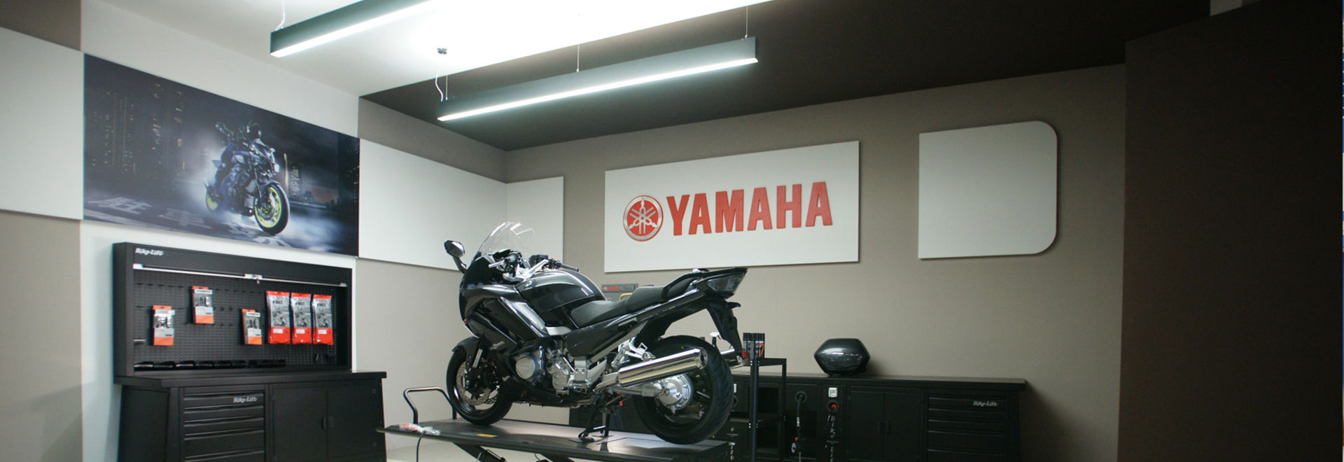 Shinrai Yamaha-Indoor Decorators Works