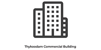 Thykoodam commercial building-Indoor Decorators Clients